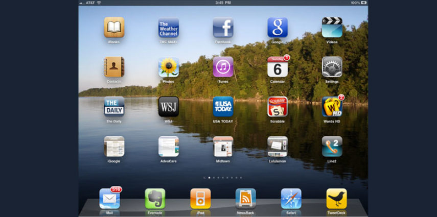 Although I gave the iPad a mediocre review at first, I now admit, that I am an iPad fanatic.