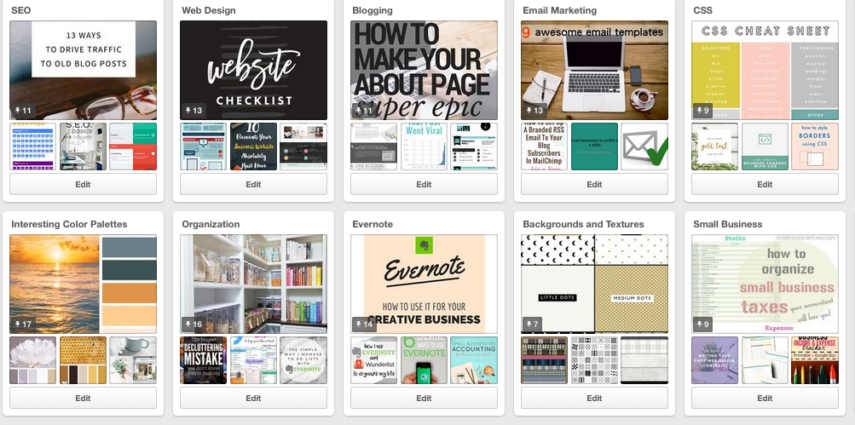 We find Pinterest a great tool to compile info we want to refer back to in the future. It is totally visually appealing and engaging.  What are you waiting for?