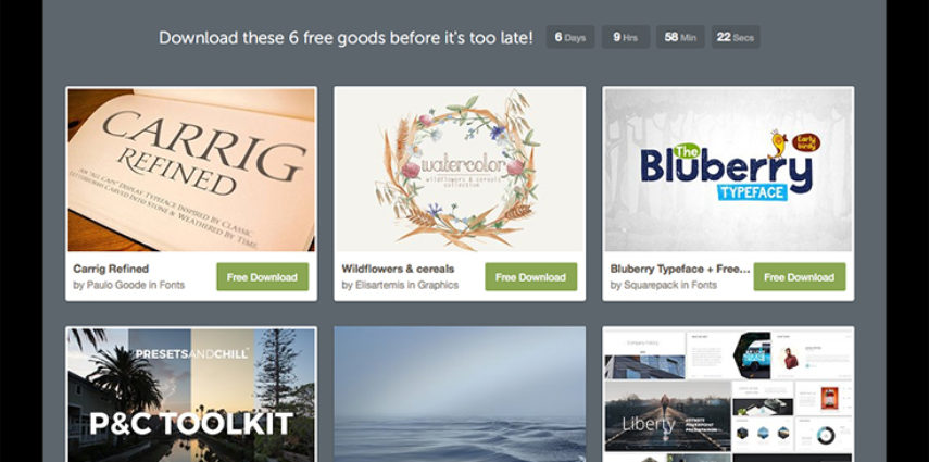Who doesn't like free design resources?